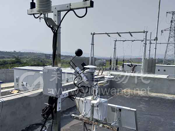 小型光伏电站气象站