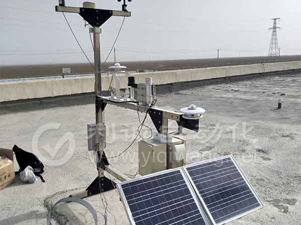 光伏电站气象站检测