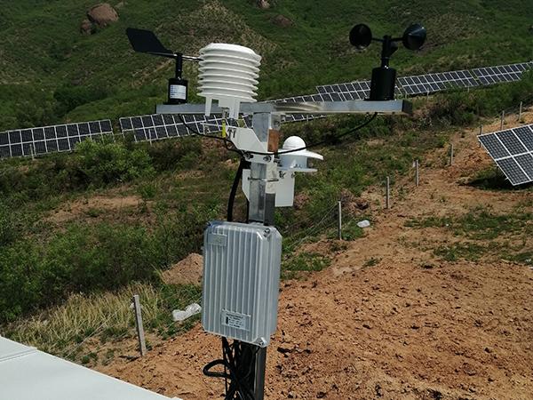 太阳能智能农业气象站